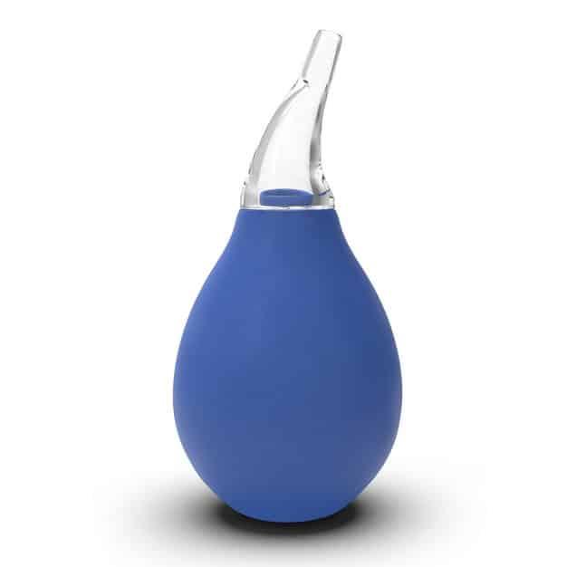 Mouche-bébé électrique nasal de couleur bleu