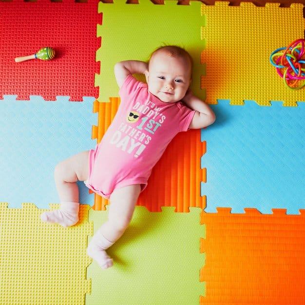 Tapis de jeu pour bébé – Texte 3