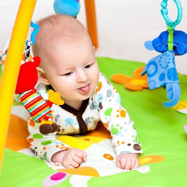 Tapis de jeu pour bébé – Texte 1