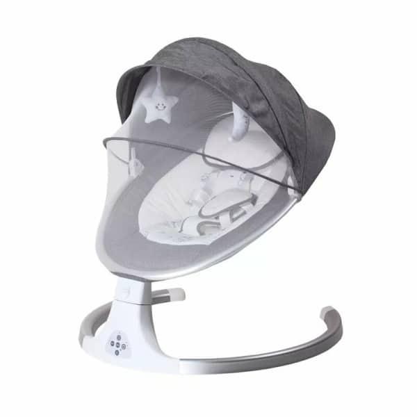 Chaise bascule pour nouveau n berceau lectrique apaisant Bluetooth avec coussin de si ge haute quali.jpg