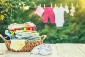 comment laver les vêtements de bébé ?